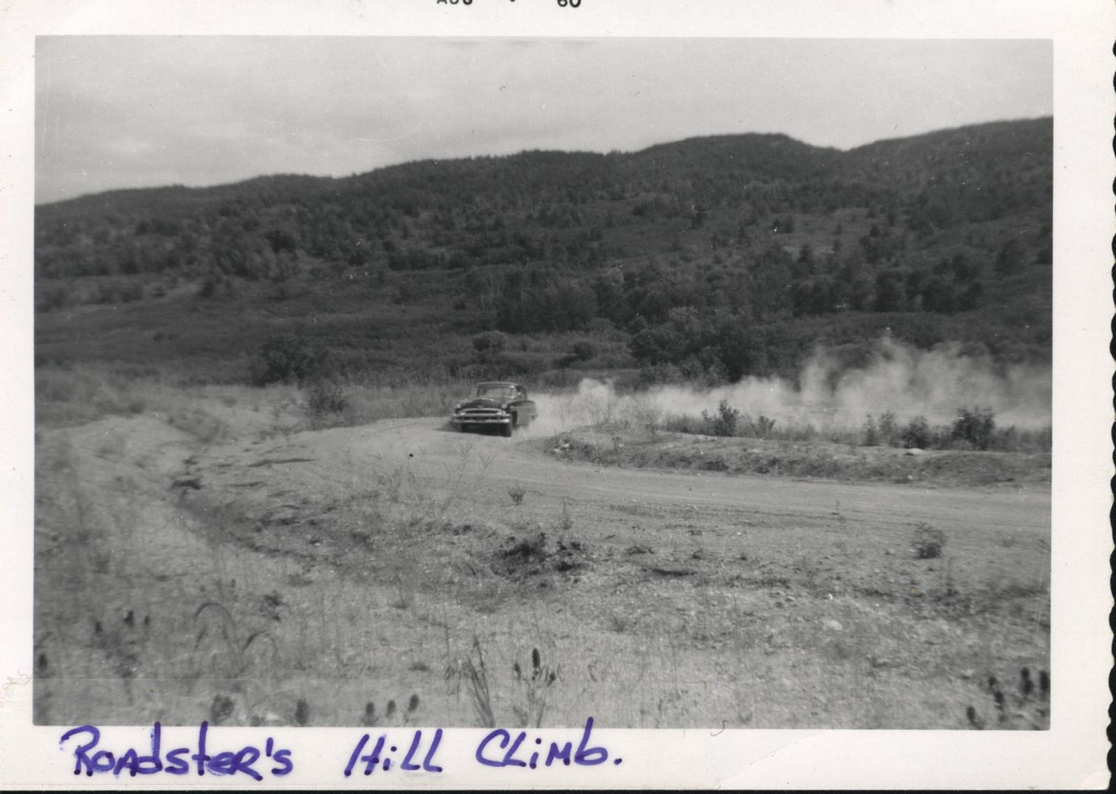 WSCC HILL CLIMB AT MORDEN, MANITOBA August 1960