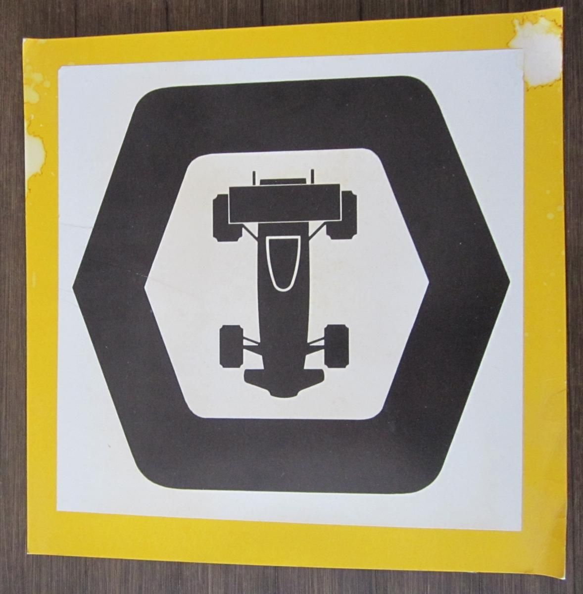 '70s Track Sign (?)