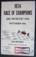 1974 Race of Champions Poster