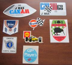 '60s Canadian Race Decals