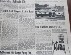 1966 Canadian Drivers' Championship - Fort McLeod September 4, 1966